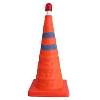 Safety - Traffic Cone with Red LED Light