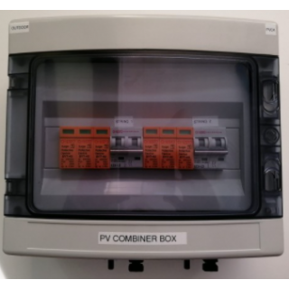 PV COMBINER 2IN/2OUT OUTDOOR 1P65 600V