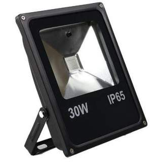LED Colour Flood Lights - 30W Red, Green, Blue, Yellow