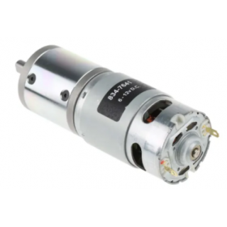 RS PRO Brushed Geared DC Geared Motor, 41.3 W, 12 V, 1.8 Nm, 116 rpm, 8mm Shaft Diameter