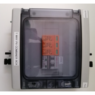 PV COMBINER 1 IN/1OUT OUTDOOR 1P65 600V